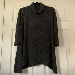 Sonoma black 3/4 sleeve top
